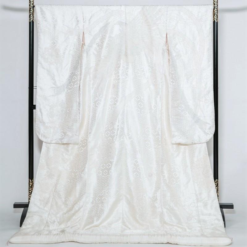白無垢―亀甲花菱に鳳凰