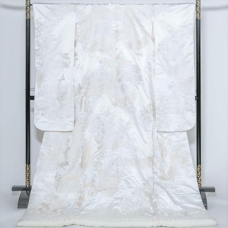 白無垢―鳳凰・流水文様